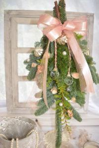 クリスマス モミの木スワッグ