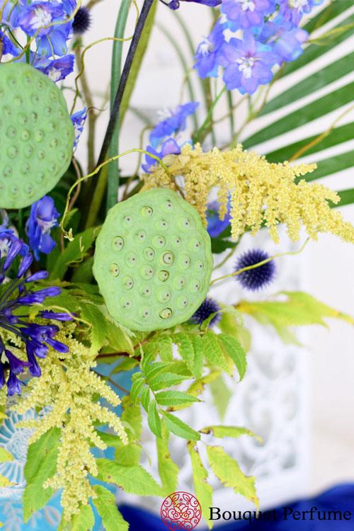 花のフラワーアレンジメント